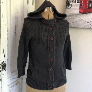 Hooded sweater size medium